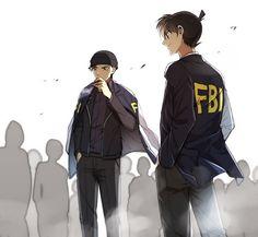 Let's spread Detective Conan to all over the world with us to get an anime stuff you want free. Anime Nerd, Anime Guys, Manga Anime, Magic Kaito, Noragami, Detective Conan Shinichi, Gosho Aoyama, Amuro Tooru, Kaito Kid