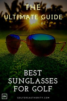 Golf Fashion Are you looking for the Best Sunglasses for Golf? Check out our in depth buyers guide to find the best pair of sunglasses for you. Golf Score, Golf Chipping, Golf Instruction, Golf Putting, Golf Exercises, Golf Training, Golf Lessons, Golf Accessories, Golf Fashion