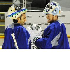 Vancouver Canucks goalies! What a team