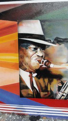 Mural pintado na Av.Rebouças em S.Paulo, Brasil, por Eduardo Kobra. #Kobra