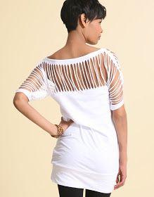 ::: OutsaPop Trashion ::: DIY fashion by Outi Pyy :::: DIY Slash sleeve top