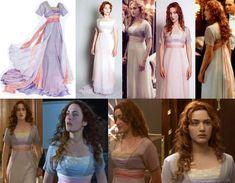 Worn when the ship went down Titanic Costume, Titanic Dress, Titanic Movie, Lilac Dress, Rose Dress, Kate Winslet, Edwardian Fashion, Vintage Fashion, Rose Costume