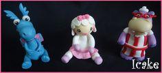 Doc McStuffins  Lambie Stuffy or Nurse Hallie cake by IcakesDesign, $25.00