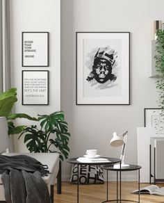 Be 'sicker than your average' neighbor with these Notorious BIG printables from KNS Digital! These Biggie tribute prints are the perfect addition to any hip-hop lover's home. Click now to shop more! Loft House Design, Art Ideas, Decor Ideas, Bar Cart Styling, Office Inspo, Hip Hop Art, Interior Decorating, Interior Design, Gallery Walls