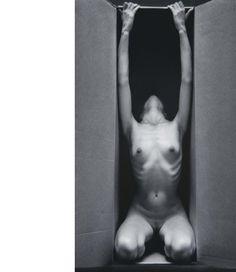 RUTH BERNHARD In the Box (Vertical), 1963