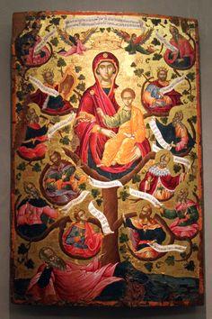 Icona della Vergine e dell'Albero di Jesse