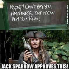 Jack Sparrow Approves this message. Pirates of the Caribbean Captain Jack Sparrow, Jack Sparrow Funny, Jack Sparrow Quotes, Funny Disney Memes, Stupid Funny Memes, Funny Facts, Funny Quotes, Johny Depp, Pirate Life