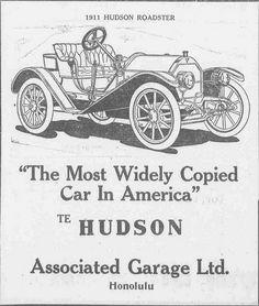 Hudson Car | The Hudson Car -- Associated Garage Ltd.  Hudso… | Flickr