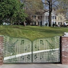 Gates of Graceland, Memphis TN - Home of Elvis Presley