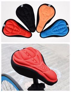 Cycling Seat Mat Comfort Cushion - multi fit