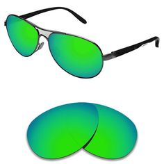 b57a562463a NEW POLARIZED CUSTOM GREEN LENS FIT RAY BAN RB3502 61MM SUNGLASSES  fashion   clothing  shoes  accessories  mensaccessories   sunglassessunglassesaccessories ...