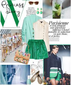 """green with envy"" by whit825 ❤ liked on Polyvore"