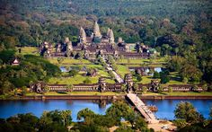 Canals may have sped up building of wonder of the world Angkor Wat ...