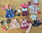 "Lot of 6) Outfits w/ Accessories for American Girl OG 18"" Dolls"