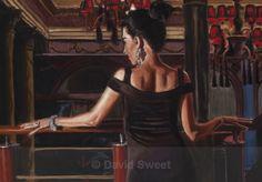 Vaudeville III - Paintings David, Paintings, Sweet, Fashion, Candy, Moda, Fashion Styles, Painting Art, Painting