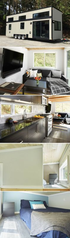 The Lillooet: a luxury 400 sq ft tiny home from West Coast Outbuildings
