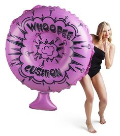 Designed to look exactly like a massive 4 foot wide whoopee cushion floating in the pool, but, unfortunately, it& only for floating around on and doesn& horrendously flatulate when cannonballed onto it. Hmm, maybe that& a good thing. Summer Pool, Summer Fun, Pool Fun, Summer Vibes, Summer Things, Summer Breeze, Funny Pool Floats, Pool Floats For Adults, Swimming Pool House