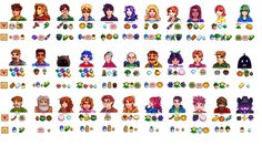 Stardew Valley character preferences ^-^