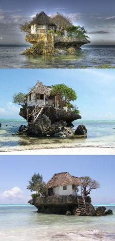 The Rock Restaurant Zanzibar, Tanzania | Strange Or What