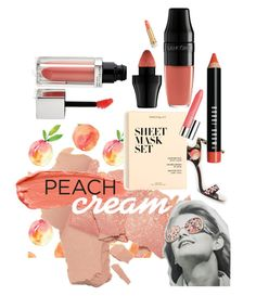 """#PeachLipstick"" by quai-lo-geisha ❤ liked on Polyvore featuring beauty, Ted Baker, J.Crew, Lancôme, Maybelline, Clinique, Bobbi Brown Cosmetics and peachlipstick"