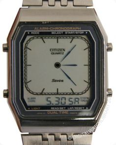 CITIZEN - 9560-083181K - Digi-Ana - Vintage Digital Watch - Digital-Watch.com