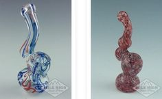 Glass bubblers are basically little hand-held water pipes, in the sense that they can take water and will assist in filtering and percolating. Smoking accessories have vast variety, different styles, unique designs and colors scheme. Milehighglasspipes.com offers the largest selection of quality smoking pipes at affordable prices. Choose from glass pipes online, glass bowls, grinders, metal pipes and more.  Buy quality glass bubblers for sale in different styles, colors and sizes. We have…