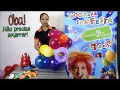 ▶ Como Fazer Flor de Balão - Pt 2 (Magazine 25) - YouTube #tutorial #comofazer #passoapasso #dica #festa #decoracao #floresdebaloes #flordebalao