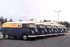 60 jaar geleden volkswagen t1 van Plaizier