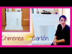 chimenea decorativa carton, Ideas para decorar en navidad, manualidades faciles y baratas - YouTube