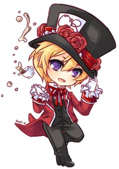 Tamaki the Mad Hatter by Antikuu.deviantart.com on @DeviantArt