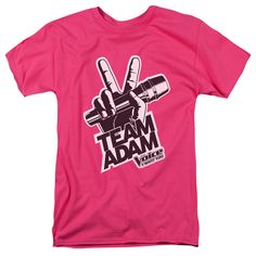 The Voice/Adam Logo - Hot Pink