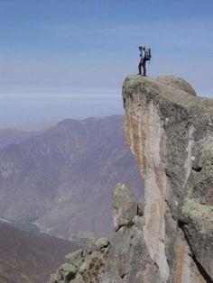 Caminante en Maracuasi, Altura, 4000 msnm.