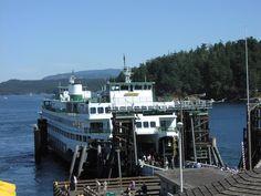 Ferry from Friday Harbor Wa.