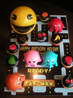 1000 Images About Video Game Cakes On Pinterest Candy