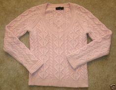 Totes dropped the ball on this: why Netflix & Ebay don't mix | The Limited Angora Lambswool Chunky Cable Knit Sweater Light Pink VGC Medium M | eBay