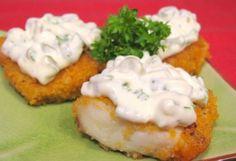 Рецепт-Рыба под соусом «Тартар» | Рыба и морепродукты