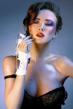 Agence de mannequins Hype models Paris - Model agency in Paris / visage / femme / maquillage / pluiesnuhiriennes / éclairage