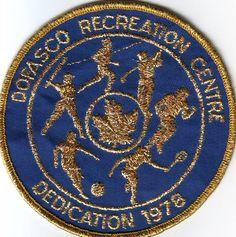 1978 Rec Centre Dedication Patch
