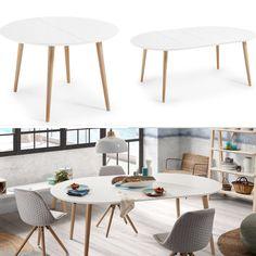 Spisebord med ileggsplater kolleksjon OAKLAND www.mirame.no #bord ...