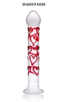 Dong Glossy Pure Love Caractéristiques: - Matière: verre sécurisé haute résistance - Dimensions:18,5 x 3,3 cm - Marque: Glossy Toys