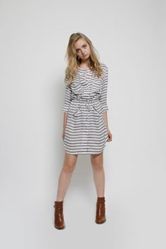 leyendecker stripe dress