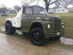 Like this truck, 1970's international loadstar 1600 4X4