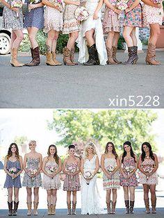 Country Vintage Wedding Dress