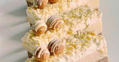 Kekszes, gesztenyés szelet Krispie Treats, Rice Krispies, Tej, Vanilla Cake, Food, Essen, Meals, Rice Krispie Treats, Yemek