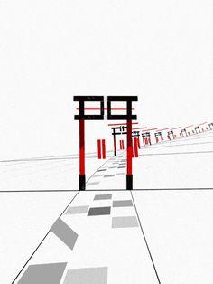 另類的漢字京都遊覽   MyDesy 淘靈感