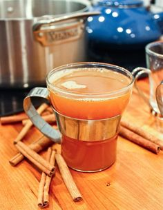 Recipe: Brown-Buttered Hot Rum Cocktail