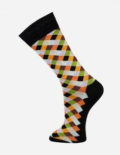 Check no.908 Effio #Dandy #Mensstyle #Mensfashion #Gentleman #Socks #DutchDesign #MadeinItaly #Check #Colourful
