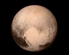 Imagen de Plutón tomada este lunes | NASA
