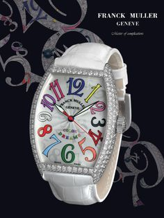 From the Franck Muller Ladies Collection! Available at London Jewelers!