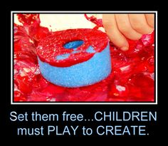 Casa Maria's Creative Learning Zone: Children must Play to Create- Poster